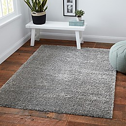Norway Shag Rug in Grey