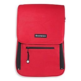 Messermeister 6-Pocket Messenger Bag in Red