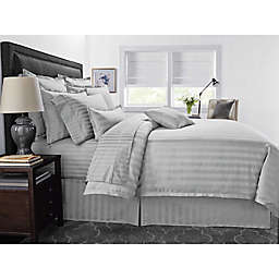 Wamsutta® 500-Thread-Count PimaCott® Damask Stripe Duvet Cover Set
