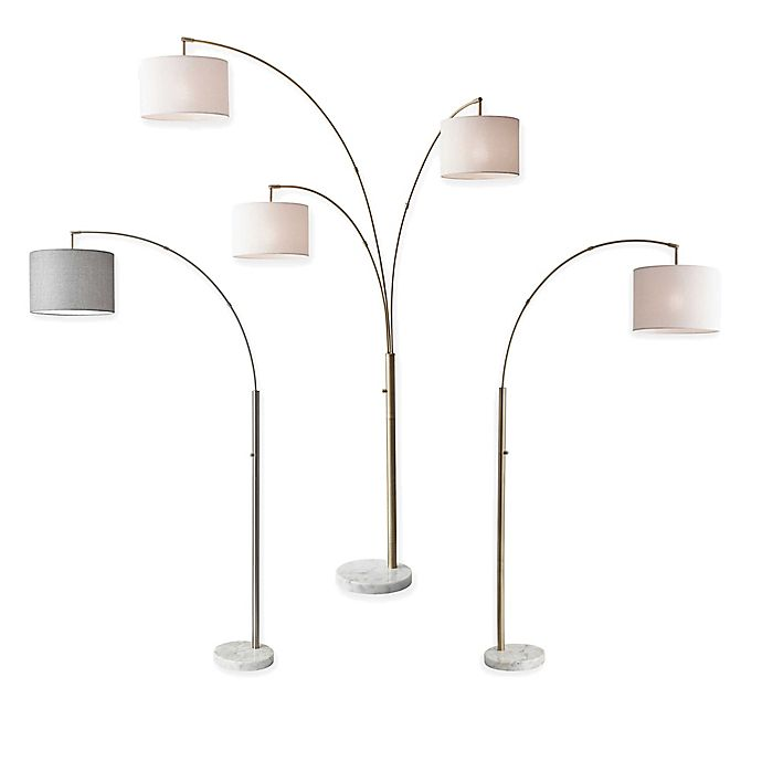 Alternate image 1 for Adesso Bowery Lamp Collection