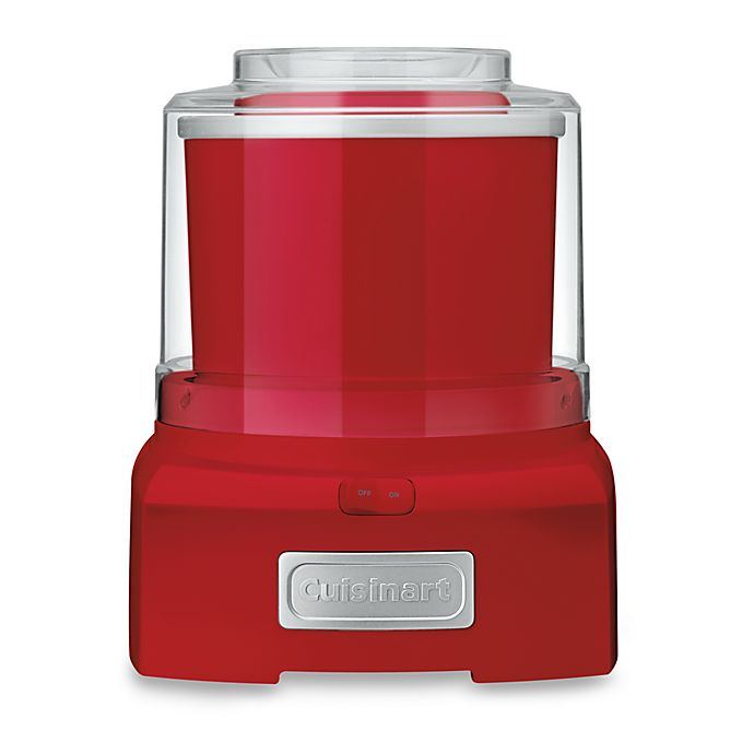Alternate image 1 for Cuisinart® Ice Cream and Sorbet Maker in Red