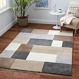 Medley Blocks Multicolor Rug