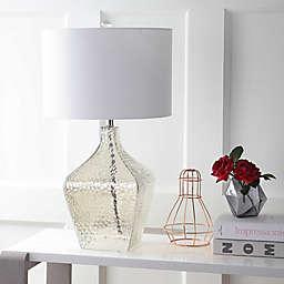 "JONATHAN Y Jane 26"" Glass LED Table Lamp"