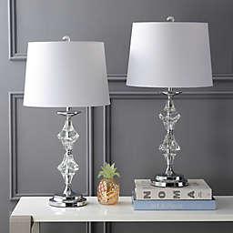 "JONATHAN Y Madison 27"" Crystal LED Table Lamp (Set 2)"