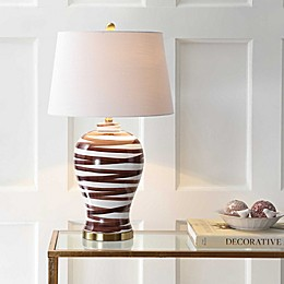 "JONATHAN Y Joelle 29"" Ceramic LED Table Lamp"