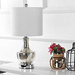 "JONATHAN Y Colette 20"" Mini Glass LED Table Lamp"