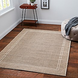 Desert Sand Area Indoor/Outdoor Rug in Tan