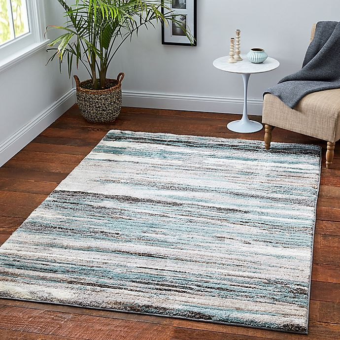 Stillwater Area Rug In Seaglass Grey Bed Bath Beyond