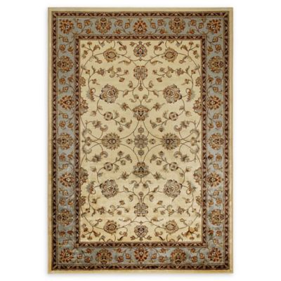 Verona Classic Ivory Blue Rugs Bed Bath And Beyond Canada