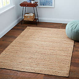 Bee & Willow™ Home Fireside Jute Braided 6' x 9' Area Rug in Natural