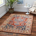 Sienna 2'3 x 3'9 Area Rug in Rust