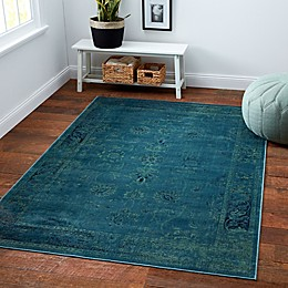 Safavieh Vintage Palace Area Rug in Turquoise