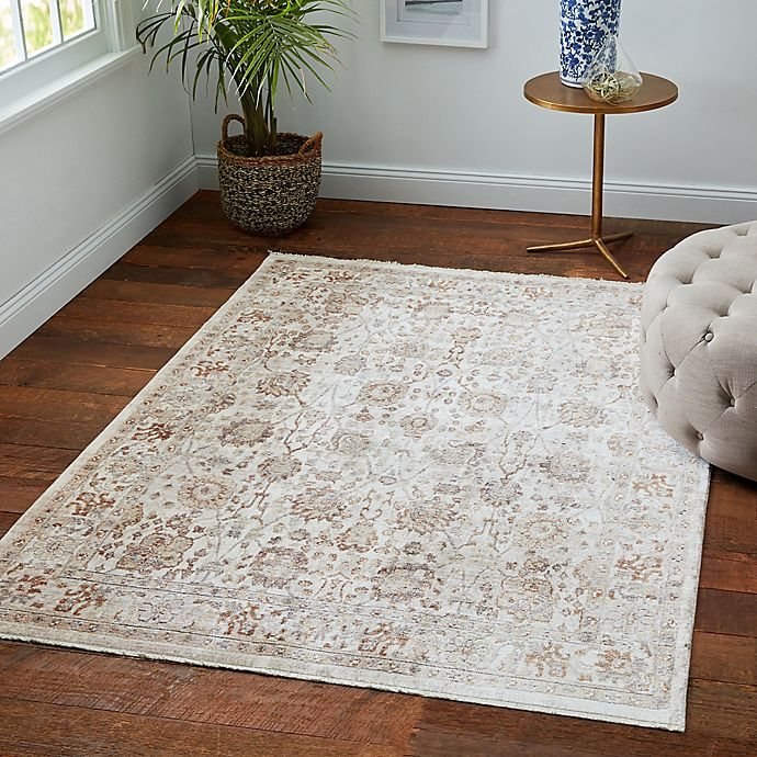 Alternate image 1 for Safavieh Illusion 4' X 4' Safavieh Illusion Rug In Crème Cream/light Brown