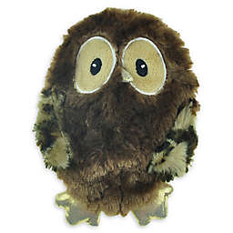 Bounce & Pounce Flatty Owl Dog Toy