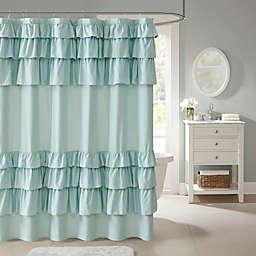Madison Park Grace Ruffled Shower Curtain Collection