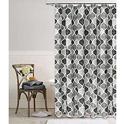 Priya 72-Inch Square Shower Curtain in Grey