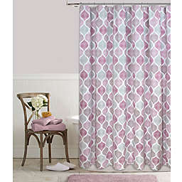Priya 72-Inch x 96-Inch Shower Curtain in Plum