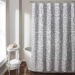 Keila 54-Inch x 78-Inch Shower Curtain in Grey