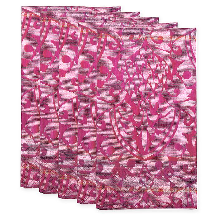 Paper Guest Towels Bathroom: Damask Paper Guest Towel In Amethyst