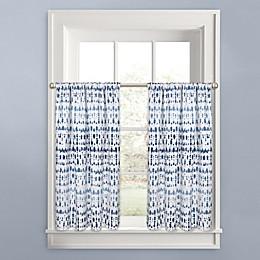 Colordrift Raindance Window Curtain Tier Pair
