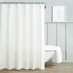 Laura Ashley® Annabella Shower Curtain in White
