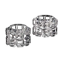 Godinger Diamante Votive/Candlestick Holders (Set of 2)