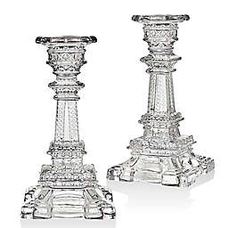Godinger Eiffel Tower 6-Inch Candlestick Holders (Set of 2)