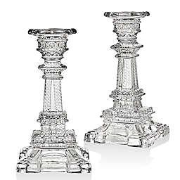 Godinger Eiffel Tower 6-Inch Candlestick Holders (Set of 2)
