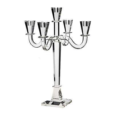 Godinger Clarendon 5-Light Candelabra in Clear