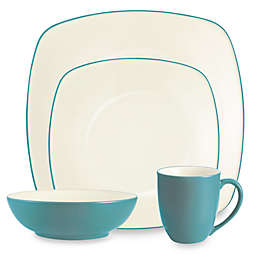 Noritake® Colorwave Square 4-Piece Place Setting in Turquoise