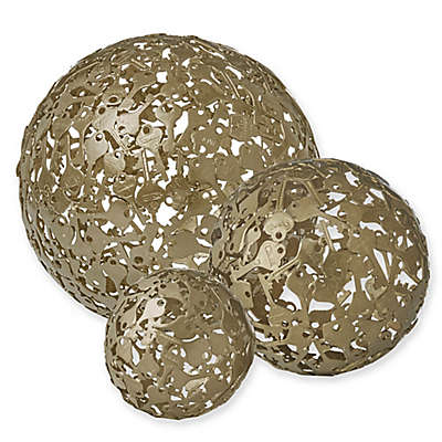 Madison Park Signature Key Sphere in Gold