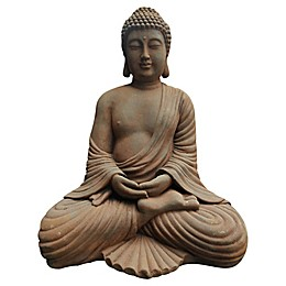 Moe's Home Collection Sitting Buddha in Antique