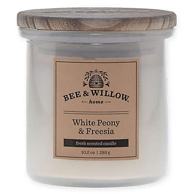 Bee & Willow™ Home Peony Freesia 10.2 oz. Jar Candle