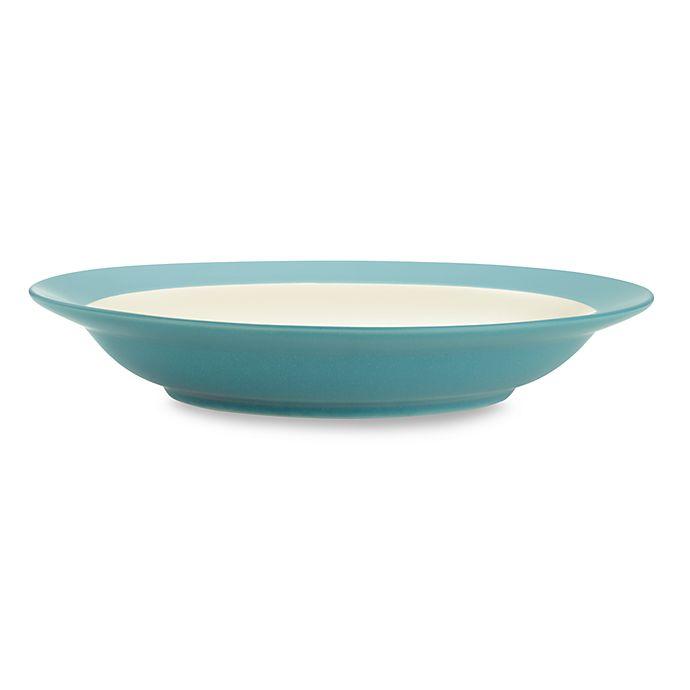 Alternate image 1 for Noritake® Colorwave Rim Pasta Bowl in Turquoise