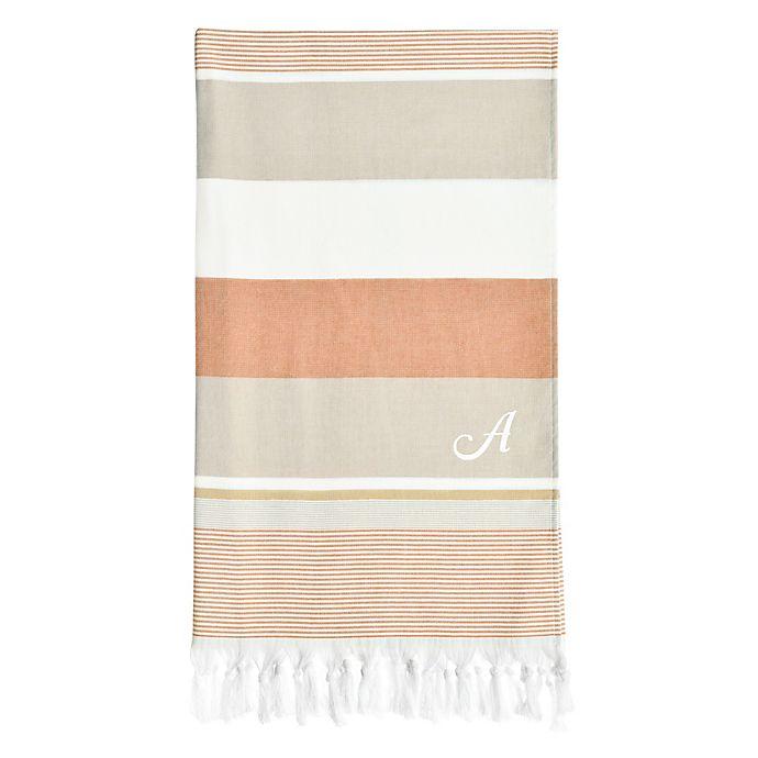 Alternate image 1 for Linum Home Textiles Summer Loving Pestemal Beach Towel in Beige