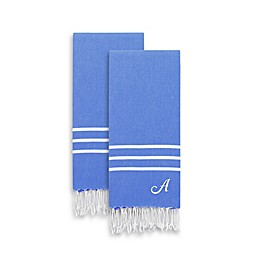 Linum Home Textiles Alara Pestemal Hand Towels (Set of 2)