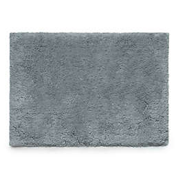 "Under the Canopy® 21"" x 34"" Organic Cotton Bath Rug in Titanium"