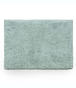 Tapete para baño Under the Canopy® de algodón orgánico, 53.34 x 86.36 cm en azul neblina