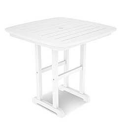 POLYWOOD® Nautical 31-Inch Square Dining Table