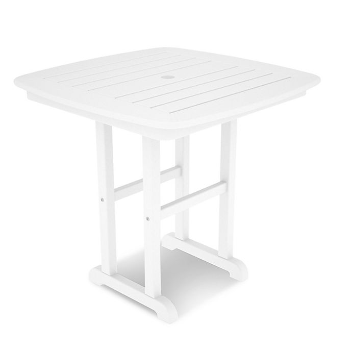 Alternate image 1 for POLYWOOD® Nautical 31-Inch Square Dining Table
