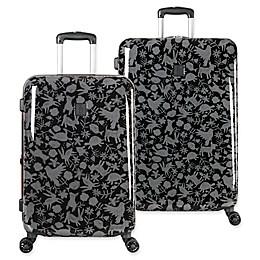 ED Ellen DeGeneres Laurel Hardside Spinner Checked Luggage