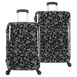 ED Ellen DeGeneres Laurel Hardside Spinner Checked Luggage