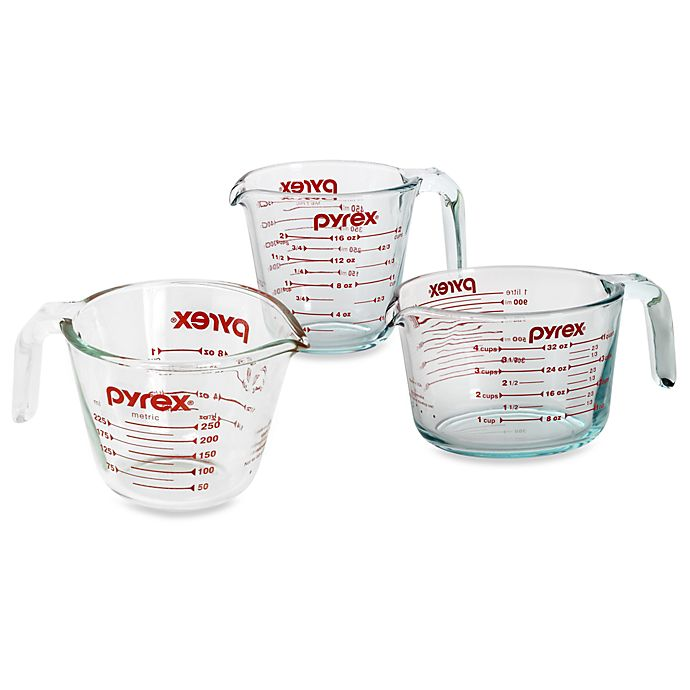 Alternate image 1 for Pyrex® Measuring Cups