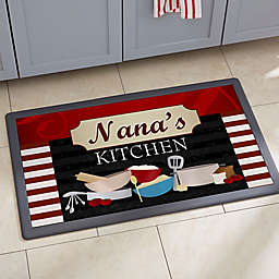 Family Bistro Kitchen Mat