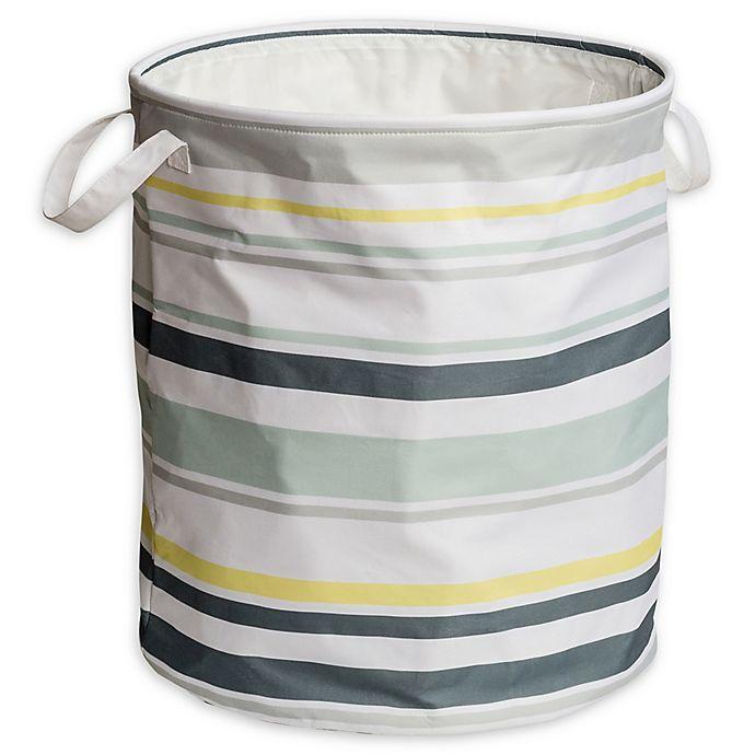 Alternate image 1 for Honey-Can-Do® Kids Collection Laundry Hamper in Multi-Stripe
