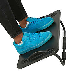 Mind Reader Ergonomic Tilting Foot Rest in Black