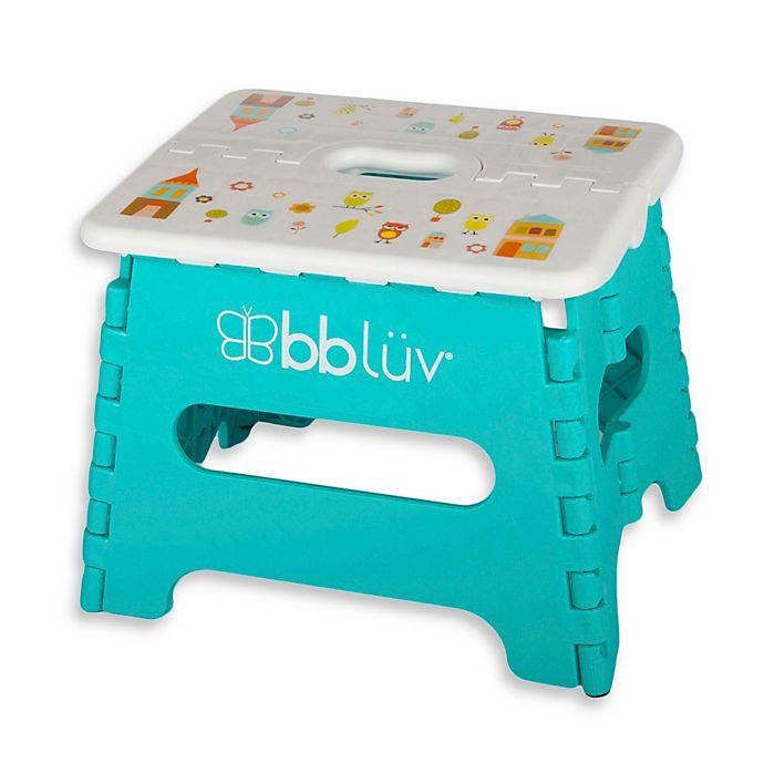 Alternate image 1 for bbluv® Step Stool in Aqua