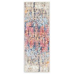 Jill Zarin Downtown Chelsea 2'2 x 6' Multicolor Runner