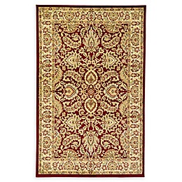 Unique Loom Agra Rug in Red