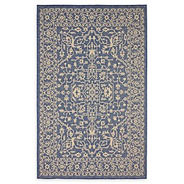 Allover Indoor/Outdoor Area Rug in Blue